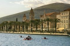 TROGIR SEA KAYAK TOUR Discovering 2300 years old town of Trogir from the sea kayak is without the doubt something special! You will experience numerous town attractions like fortress of Kamerlengo, city walls and gates built in 15th century, old bridges and many other historic places.  Join us! www.Red-Adventures.com