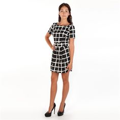 French Connection Women's Contemporary Paint Check Richie Dress | from Von Maur #VonMaur #SpecialOccasion