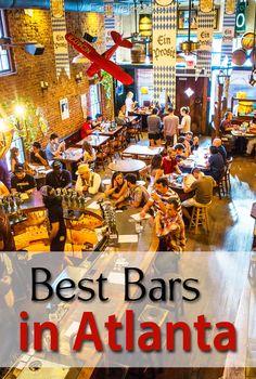 Best Bars in Atlanta, Georgia