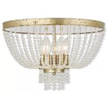 Livex Lighting Valentina W Clear Crystal/Hand Applied Winter Gold Crystal Semi-Flush Mount Lightt Semi Flush Lighting, Semi Flush Ceiling Lights, Livex Lighting, Flush Mount Ceiling, Ceiling Light Fixtures, Chandelier Lighting, Chandeliers, House Lighting, Gold Ceiling