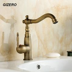 Basin Mixer hot and cold Faucet 360 Degree Rotation Spout Basin Sink Mixer Tap torneira ZR104 #Affiliate