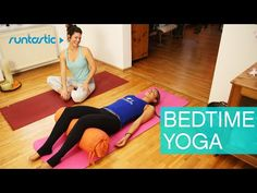 Yoga for Bedtime: Relax and get a good night's sleep - YouTube