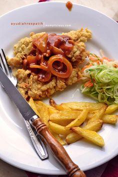 Momylicious...: Chicken Crispy Saus Barbeque