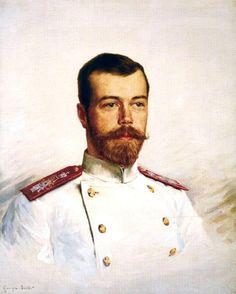 A very beautiful painting of Tsar Nicholas II.