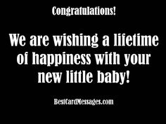 Baby Card Messages: What to Write in a Baby Congratulations Card - Best Card Messages