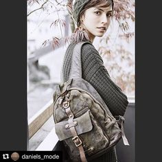 """@daniels_mode Great choice of our """"Sandalo"""" line backpack #campomaggi"""