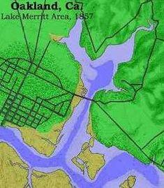 35 Best Lake Merritt Maps images