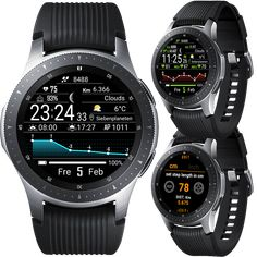 Watchmaker Watchface for android and Tizen Calendar Widget, Casio Watch, Android, Samsung Galaxy, Digital