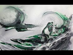 Einfach Malen-Abstract-Easy Painting - Secret Date - YouTube