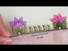 Çok güzel bahar çiçekleri gibi harika ötesi bir modelin yapım aşamaları - YouTube Needle Lace, Tatting, Elsa, Embroidery, Creative, Model, Youtube, Craft, Asl Sign Language