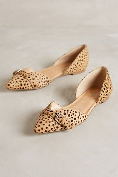 Dr Scholl's Tivoli D'Orsay Flats #anthrofave #anthropologie.com