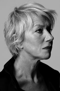 Helen Mirren...aging gracefully and beautifully!