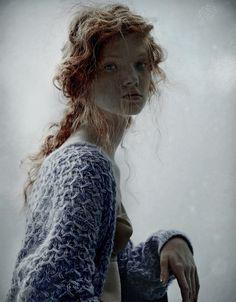 gorgeous Anastasia Ivanova | Domenico Cennamo #photography | Forget Them 1 Winter 2011