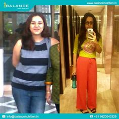 Found a picture that reminded me of my own weight loss journey :) Khyati Rupani #balancenutrition