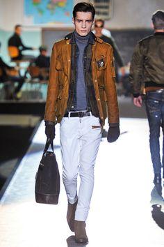 Milan #Menswear #FashionWeek F/W 2012-2013 #Dsquared2