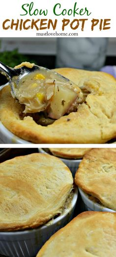 chicken pot pie slow cooker chicken pot pie is chicken and vegetables ...