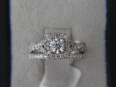 Matt had a few pics of this ring on his phone  he doesn't know I know  Vera Wang 100ct Diamond Engagement Ring by TWGoldandDiamond, $2799.00