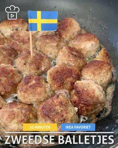 Balls, Om, Ikea, Foods, Chicken, Ethnic Recipes, Easy Meals, Recipes, Food Food