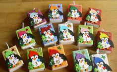 Adventskalender Pinguin von Wollzottel auf DaWanda.com