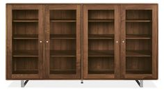 solid maple is so beautiful. Something like this for our nice dishes. This is $3k. Whitney Storage Cabinets - Cabinets & Storage - Dining - Room & Board