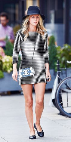 A Parisian Chic Look So Good You Have To Copy It via @WhoWhatWear