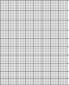 Free Printable Cross Stitch Charts | blank graph paper - printable graph paper