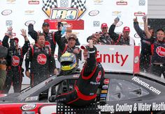 By Sarah Handy, Staff Writer In this week's edition of Flashback Friday, Kickin' The Tires relives when Michael McDowell won the NASCAR Xfinity Series Road America 180 at Elkhart Lake's Road America on August Michael Mcdowell, Darlington Raceway, Elkhart Lake, T Race, Monster Energy Nascar, Daytona International Speedway, Auto News, He Is Able