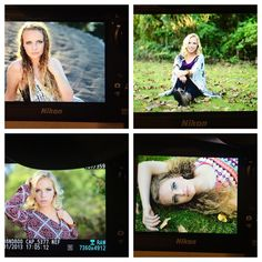 Back of the camera preview from today's shoot with my last two 2016 Senior Exclusive Models!! #capexclusivemodel @aly_nutt @camie_bielat #chelseaatkinsphotography #capbts #straightoutofcamera #nikon