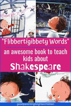Here are amazing ways to introduce Shakespeare to kids. With simplified plots and language, this literary giant steps down to teach simple lessons of bigotry, mercy and more to the youngest of the young. Fun tidbits, activities Core Learning, Kids Learning, Children's Books, Good Books, Preschool Activities, Activities For Kids, High School Drama, Giant Steps, Fairy Tales For Kids