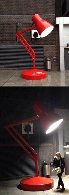 Desk lamp street light…