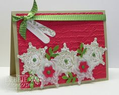 Merry Monday #73 using Stampin' Up! products by Debbie Henderson, Debbie's Designs.
