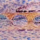 The Viaduct by Henri-Edmond Cross