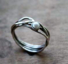 *sterling silver and pearl