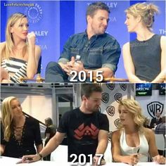 Olicity in real life