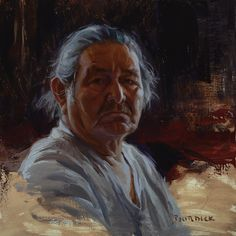 """Great Grandfather - Navajo"" by Scott Burdick"
