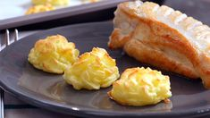 Canapes, Dessert Recipes, Desserts, Baked Potato, Cauliflower, Side Dishes, Cooking Recipes, Potatoes, Vegetables