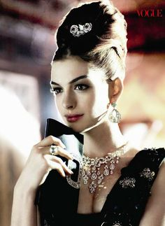 #AnneHathaway #photoshoot #VOGUE #AudreyHepburn November 2010  Could I love her any more, even if I tried?