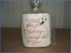 Love That Bug ~ Cricut, Cuddlebug, Cards, Crafts & More ~: September 2010  Embroidered toilet paper