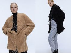Zara is offering up to off select special price items. Zara Outfit, Winter Outfits, Fur Coat, Jackets, Colors, Women, Fashion, Down Jackets, Moda