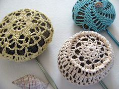 Ravelry: Project Gallery for Lacy River Rocks pattern by Margaret Oomen
