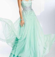 Prettiest prom dress ever!