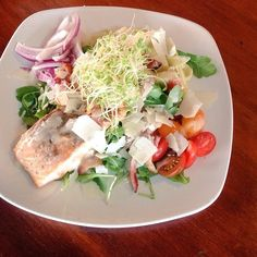 North Beach Grill has somegreat specials tonight. Andouille/Spinach/Hominy Soup- Vegetarian Roasted Hominy/charred Tomato Soup -Tybee Holiday salad with Tuna* radicchio, kale, carrots, cucumbers, red onions, heirloom tomatoes, blackberries, mangoes, gorgonzola and cheddar cheeses, and Georgia pecans served with a Vidalia onion vinaigrette-Holiday aubergine frites lightly fried eggplant with Turkish apricot/cranberry chutney, gorgonzola cheese, Georgia pecans, and Sav Bee Co. honey.