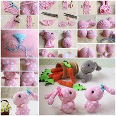Wonderful DIY Cute Sock Bunny