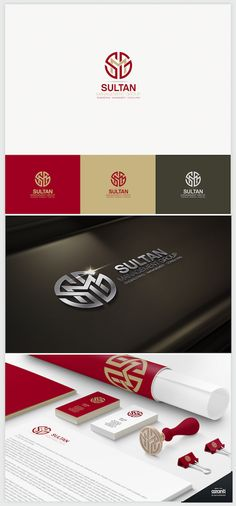 Logo Design - Management and Consulting services for the Heavy Industries of northern Canada Corporate Identity Design, Brand Identity Design, Branding Design, Logo Branding, Corporate Logos, Creative Logo, Creative Design, Logos Online, Web Design