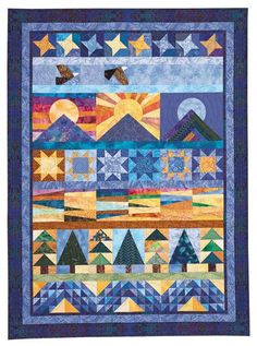 Quiltmaker's America The Beautiful Pattern 08P002 by QuiltSewShop