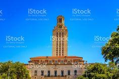 Main Building in UT Austin royalty-free stock photo