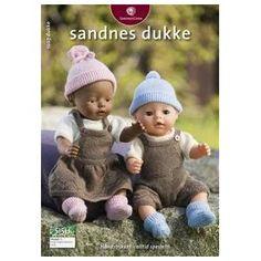 Ravelry: Nr 1 Dukkeklær Jente og Gutt pattern by Sandnes Design Knitting Dolls Clothes, Knitted Dolls, Doll Clothes Patterns, Crochet Dolls, Doll Patterns, Knitted Hats, Girl Dolls, Baby Dolls, Baby Born Clothes
