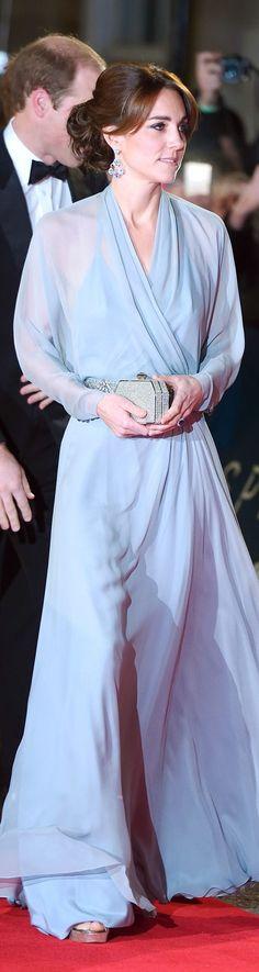 Kate Middleton In Jenny Packham – 'Spectre' London Premiere