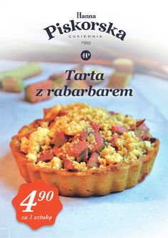 Tarta z rabarbarem / tart with rhubarb  #tart #rhubarb