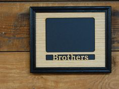 8x10 brothers picture frame gift for brothers siblings frame family picture frame brother gift custom frame